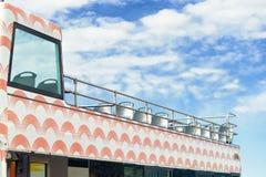 Bus facente un giro turistico vuoto Immagine Stock Libera da Diritti