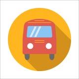 Bus flat icon Royalty Free Stock Image