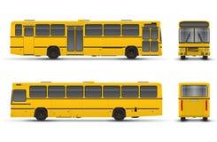 Bus giallo illustrazione vettoriale