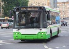 bus goes along street Royalty Free Stock Photos