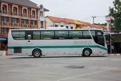 Bus of Greenbus Company. Royalty Free Stock Images