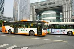 Bus in guangzhou Stock Photos