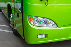 Bus headlight Royalty Free Stock Photo
