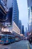 Bus in Hong kong Stock Photos