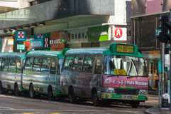 Bus in Hong Kong, Kowloon royalty free stock photo