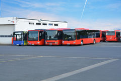 Bus hoofdpost Royalty-vrije Stock Afbeeldingen