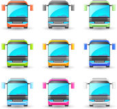 Bus icon. Royalty Free Stock Photography