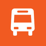 Bus icon simple vector illustration Stock Photo