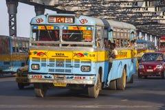 Bus indiano Immagini Stock