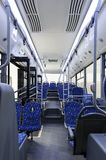 Bus inside Stock Image