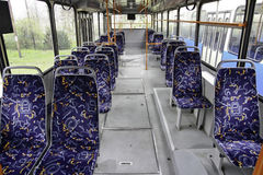 Bus interior Stock Photography