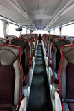 Bus interior Royalty Free Stock Images