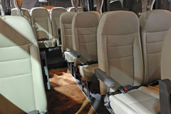 Bus interior Royalty Free Stock Photos