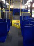 Bus interior Royalty Free Stock Image
