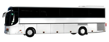 Bus - isolated royalty free stock images