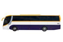 Bus isolated on white background. Image of bus isolated on white background Stock Photo
