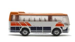 Bus isolato del giocattolo Fotografie Stock Libere da Diritti