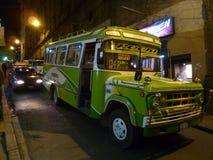 Bus in La Paz fotografia stock