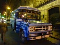 Bus in La Paz Royalty Free Stock Photos