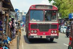 Bus `Lanka Ashok Leyland`. Colombo