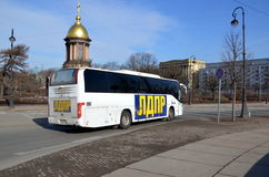 Bus of Liberal Democratic Party of Russia Royalty Free Stock Photo