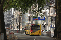 Bus in Liege Royalty Free Stock Images