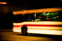 Bus line Royalty Free Stock Images