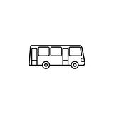 Bus line icon, navigation and transport sign. Vector graphics, a linear pattern on a white background, eps 10 Stock Image