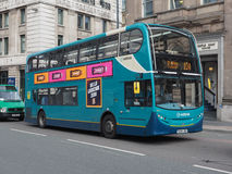 Bus in Liverpool Stock Photography