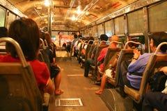 Bus locale a Bangkok Fotografia Stock Libera da Diritti