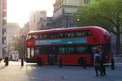 Bus in Londen Royalty-vrije Stock Afbeelding