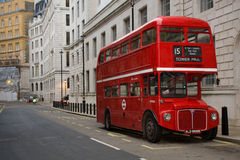 bus london routemaster Royaltyfria Bilder