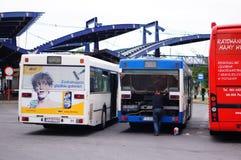 Bus maintainance Stock Photos
