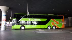 Bus of MeinFernbus FlixBus Royalty Free Stock Image