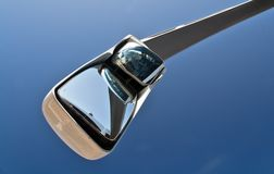 Bus mirror and sky  Stock Images
