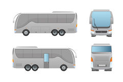 Bus mock up set design Stock Photography