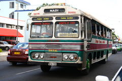 Bus in Nadi, Fiji Stock Photography