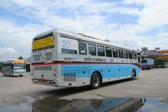 Bus of Nakhonchai air. Route Chiangmai and Ubon Ratchathani. Stock Image