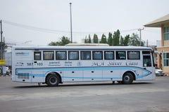 Bus of Nakhonchai air. Route Chiangmai and Ubon Ratchathani. Stock Images