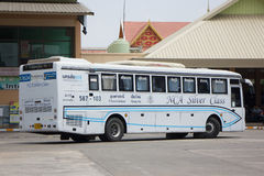 Bus of Nakhonchai air. Route Chiangmai and Ubon Ratchathani. Stock Photography