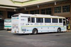 Bus of Nakhonchai air. Route Chiangmai and Ubon Ratchathani. Royalty Free Stock Image