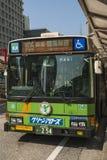 Bus in the Nijubashimae district of Tokyo, Stock Photos