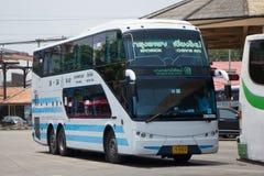 Bus No. 18-24 of Bangkok bus lines company bus Sub Company of So Royalty Free Stock Image