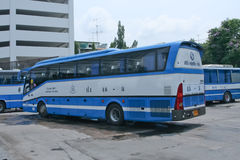 Bus No.48-8 of Rodrungrueng company bus. Royalty Free Stock Image
