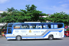 Bus No 8-003 of Thai government  Bus Company. CHIANGMAI, THAILAND - MAY 24 2014: Bus No 8-003 of Thai government  Bus Company. International bus between Stock Photography