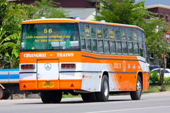 Bus No.1231-56 of Yanyorn Nakhon Chiangmai Stock Photography