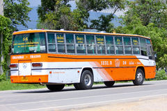 Bus No.1231-56 of Yanyorn Nakhon Chiangmai Royalty Free Stock Photography