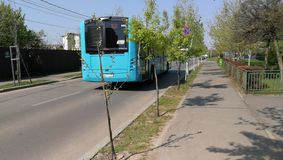 Otokar bus on street stock photos