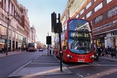 Bus Oxford Street Stock Photos