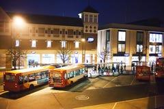 Bus posterar Arkivbild
